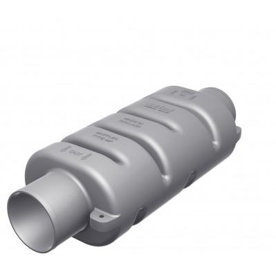 EXHAUST MUFFLER 3 sizes 75 to 100mm DEMPMP75-100