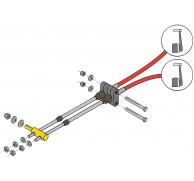ENGINE CONTROL DUAL STATION THROTTLE KIT DSKITF