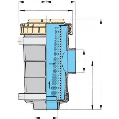 WATER STRAINER MODEL FTR1320  3 SIZES