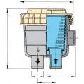 COOLING WATER STRAINER MODEL 6 SIZES FTR330