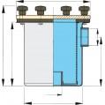 WATER STRAINER MODEL STAINLESS FTR525