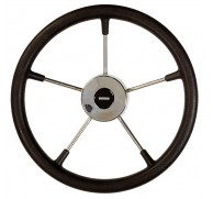 STEERING WHEEL BLACK MODEL KS 5 SIZE OPTIONS