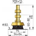 ENGINE MOUNT  SMALL KSTEUN25V