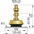 ENGINE MOUNT 3 SIZES KSTEUN50-100V