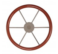 STEERING WHEEL MAHOGANY RIM  MODEL KW 3 SIZE AVAILABLE