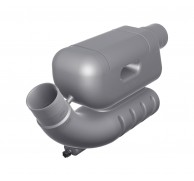 EXHAUST WATERLOCK FOR LONG RUNS 60 TO 90mm LSL60-LSL90
