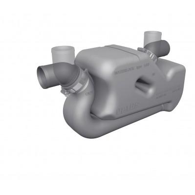 EXHAUST WATERLOCK FOR LONG RUNS 40 TO 50mm LSS40A-LSS5A