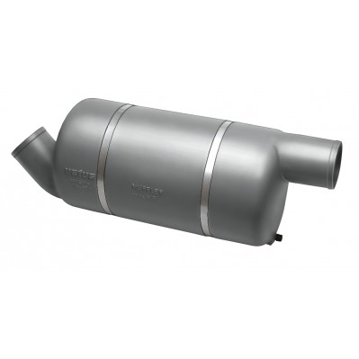 EXHAUST MUFFLER FOR HIGH PERFORMANCE CRAFT 4 sizes 90 to 150mm MF090 -MF150