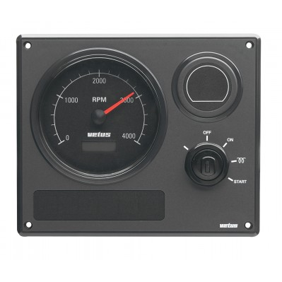 ENGINE INSTRUMENT PANEL MP21 CREAM OR BLACK 12V