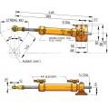 HYDRAULIC STEERING RAM MTC52