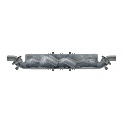 EXHAUST MUFFLER/WATERLOCK 3 sizes 40 to 50mm NLP340-NLP350