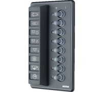 SWITCH PANEL 8 WAY 12V OR 24V