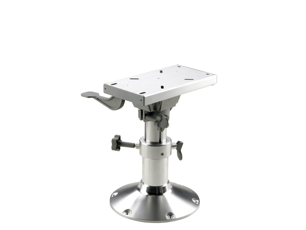 Boat Seat Pedestal With Slide Manual Adjustment 3 Height