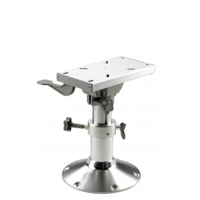 BOAT SEAT PEDESTAL WITH SLIDE, MANUAL ADJUSTMENT, 3 HEIGHT OPTIONS