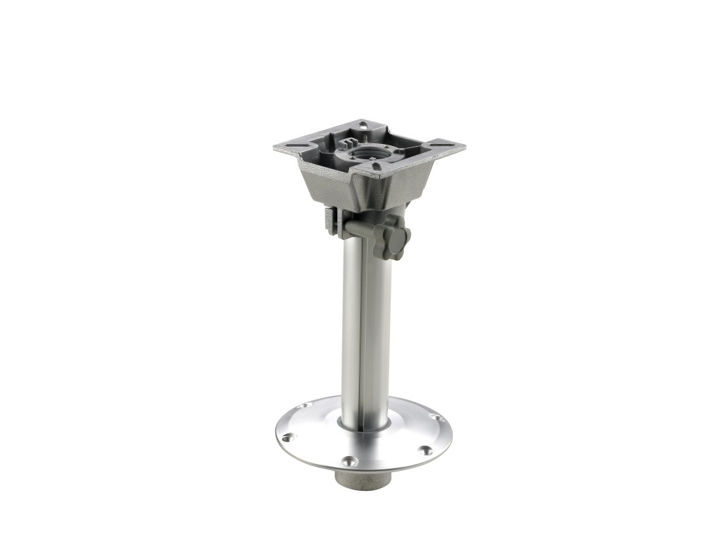 Boat Seat Pedestal Fixed Height With Slide Vetus Direct