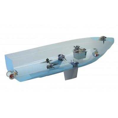 Bow Thruster 95kgf Hydraulic 185mm Tunnel Bow95hmd Vetus