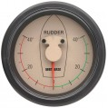 INSTRUMENT RUDDER POSITION INDICATOR GAUGE RPI1810B,WL &W