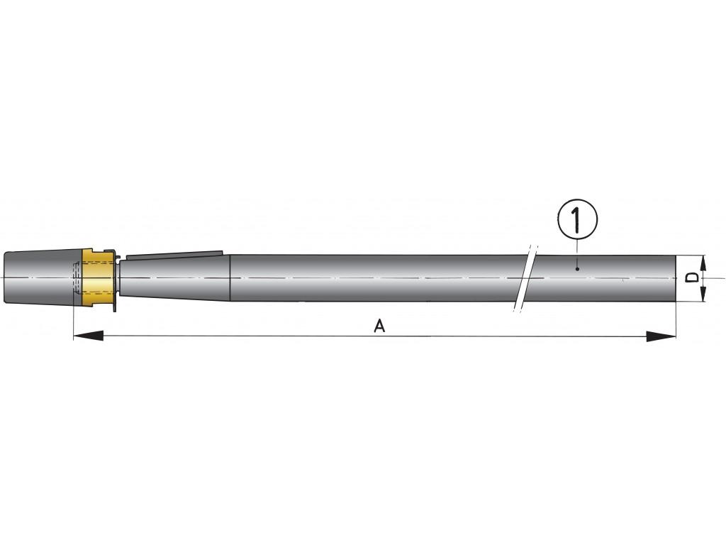 Propeller Shaft Various Lengths 35mm Amp 40mm Vetus Direct
