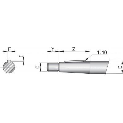 Propeller Shaft Various Lengths 45mm Amp 50mm Vetus Direct