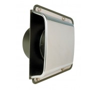 SHELL VENTILATOR STAINLESS STEEL