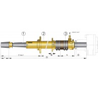 STERN TUBE BRONZE TYPE BL FOR 35 & 40mm SHAFTS