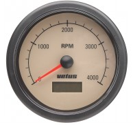 INSTRUMENT REV COUNTER WITH HOUMETER GAUGE 12/24V