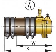 STERN TUBE FLEXIBLE INNER BEARING/ SEAL TYPE ZWB 25MM TO 60MM